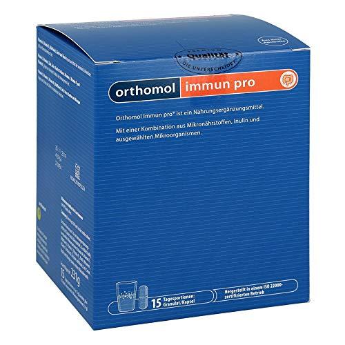 Orthomol pharmazeutische Vertriebs Immun pro Granulat/Kapsel, 1er Pack(1 x 1 kg) 15 St.