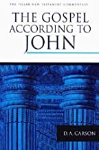 The Gospel According To John (PNTC) (Pillar commentaries) by D. A. Carson (1991) Hardcover