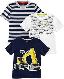 Simple Joys by Carter's Toddler Boys' 3-Pack Short-Sleeve...