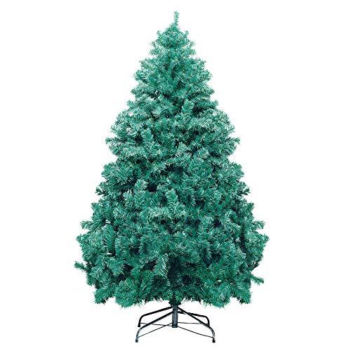 Árvore de Natal com Base Metálica, Santiago, 1350 Hastes, 2.4m, Cromus