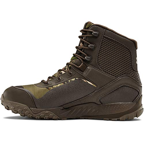 Under Armour Men's Valsetz RTS 1.5 Waterproof Military and Tactical Boot, Maverick Brown (101)/Maverick Brown, 14