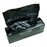 HOUNDSCOOP Case of 2000 Pet Waste Bags on Roll (10 Rolls of 200 bags per roll) Dog Waste Station Bags for HOA, Residential, commercial roll bag for Poop Station Dispensers