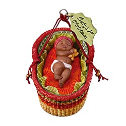 baby's first christmas ornament baby