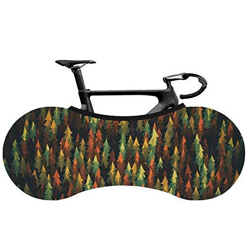 XYJPD Funda Protectora para Bicicleta Lavable para El Polvo De La Bicicleta Funda Protectora De Viaje contra El Viento Los Rayos UV.-Recolección De Aceite-(160X55Cm)