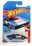 Mattel Hot Wheels Long Card HW Rescue 2019 142/250 Lamborghini Countach Police Car (Blue)
