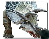 Rutschfeste Gummi-Gaming-Mausunterlage, Dinosaur Fossil Dinosaur Rubber Mouse Pad