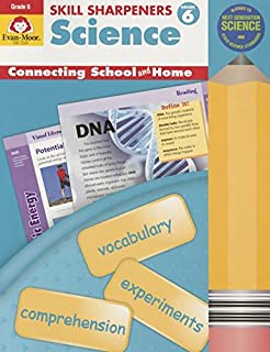 Evan-Moor Skill Sharpeners: Science Grade 6 Activity Book - Supplemental Teaching Resource Workbook for Science Projects