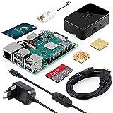 LABISTS ABOX Raspberry Pi 3 Modell B Plus (B +) Ultimatives Starterkit mit 32GB Class 10 SanDisk Micro SD Karte, 2,5A EIN/aus-Schaltnetzteil und Premium Black