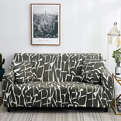 Rowa Hot-Sofa-Abdeckung Stretch Eckbänke Couch Cover Universal-Abdeckung for Wohnzimmer elastischer Spandex Slipcover, L-förmigen Need kaufen 2ST (Color : 28, Spezifikation : 2 seat 145 185cm)