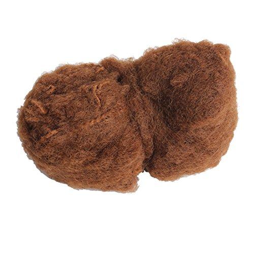 Riyang Pack of 20PCS Women's Bun Hair Nets Elastic Edge Invisible Stretchy Mesh 20' Light Brown