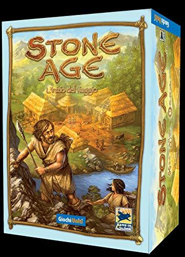 Giochi Uniti L'inizio Stone Age: L' Inizio del Viaggio Edizione 2019, Multicolore, GU654
