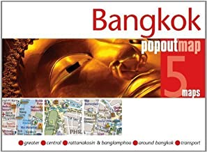 Bangkok PopOut Map (Footprint PopOut Maps) of PopOut Maps on 26 May 2012