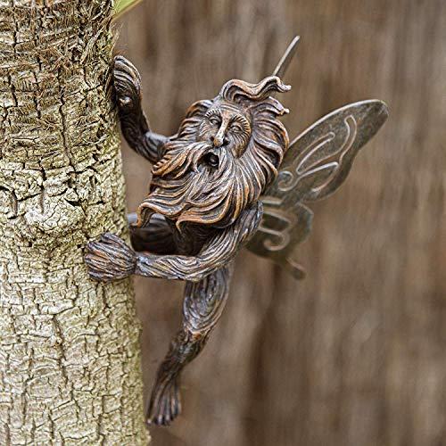 garden mile® Fairy Garden Skulpturen, Kunstharz, Ornamente für den Garten, Statuen, Hof, Dekoration, Zwerge