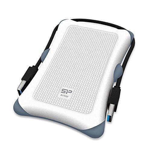 Silicon Power SP020TBPHDA30S3W Externe Festplatte 2TB (6,4 cm (2,5 Zoll), 7200rpm, 8 MB Cache, USB 3.0) blau