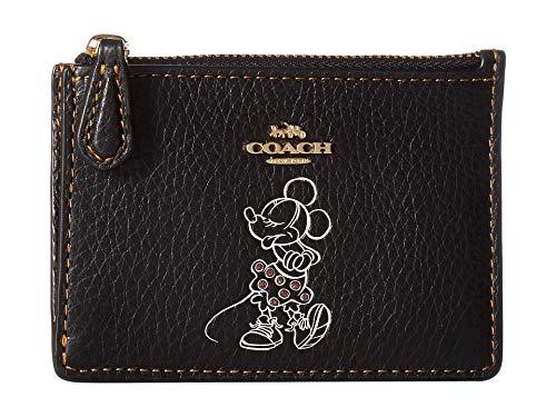 COACH Boxed Minnie Mouse Mini Skinny ID CaseDisney x COACH Li/Black One...