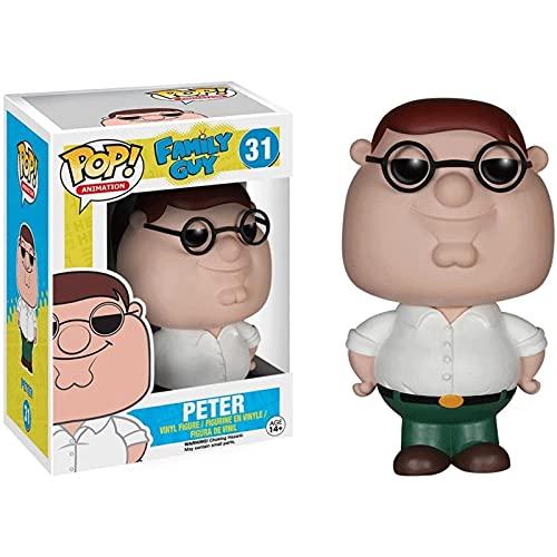 Jokoy Funko Pop Animation : Family Guy - Peter 3.75inch Vinyl Gift for Family Guy Fans Chibi
