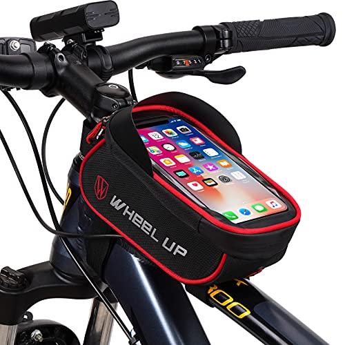 JeeLet Bolsa Bicicleta Bolsa Movil Bici con Ventana para Pan