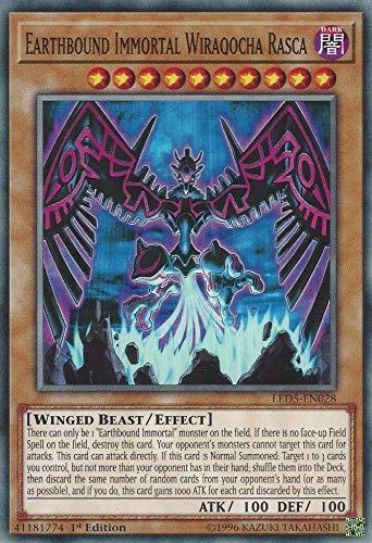 Yu-Gi-Oh! - Earthbound Immortal Wiraqocha Rasca - LED5-EN028 - Common - 1st Edition - Legendary Duelists: Immortal Destiny