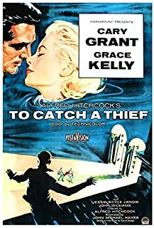 To Catch a Thief - Movie Poster Print by delovely Arts