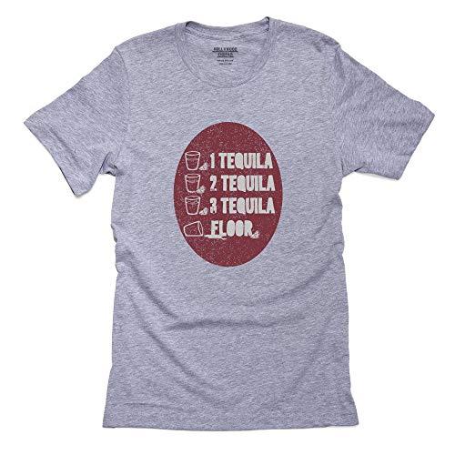 1 Tequila 2 Tequila 3 Tequila Floor Men's T-Shirt