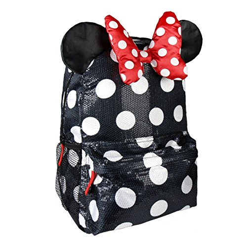 Cerdá Minnie, Mochila Escolar Instituto, 42 cm, Negro