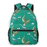 Compsognathus Dinosaur Children s Backpacks Casual Travel Daypack Bag