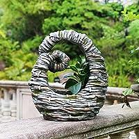 クリエイティブガーデンフラワーポット、屋外多肉プランター、中庭風景バルコニーアート像置物植物植木鉢プランター装飾 C