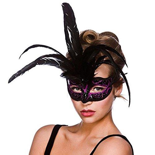 Milano Eyemask - Black / Purple