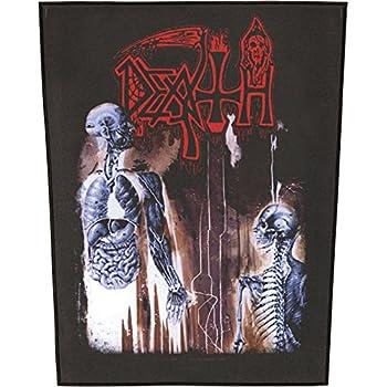XLG Death Human Back Patch Album Art Death Metal Music Jacket Sew On Applique