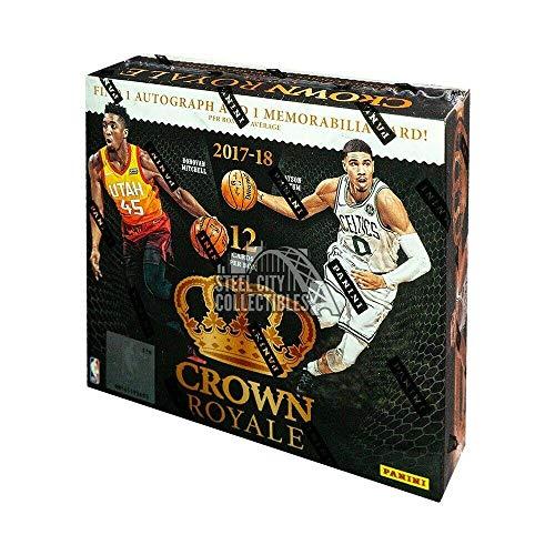 2017-18 Panini Crown Royale Basketball Box - Basketball Wax Packs
