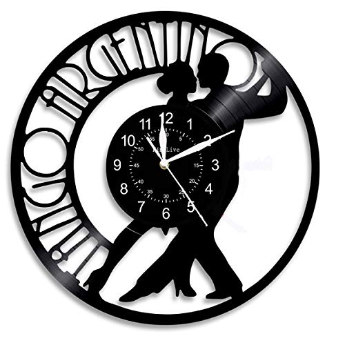 Ballroom Dancing Couple Wall Clock