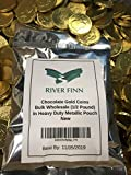 Best Chocolate Coins - RiverFinn Solid Milk Chocolate Large Kennedy Foil Wrapped Review