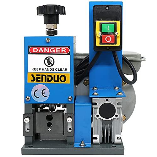Wire Stripper Machine Speed 60ft/Min Wire Stripping Machine Wire Gauge Range 0.06-1inch Automatic...