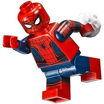 LEGO Spider-Man Minifig Peter Parker Sand Blue Jacket