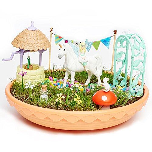 Fairy Garden – Einhorn-Garten – Mehrfarbig, Einheitsgröße (CEFA Toys 04616)