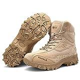 AUTOECHO Desert Boots - Zapatos De Combate De Comando Masculino del Ejército, Zapatos De Senderismo Al Aire Libre para Fanáticos, Botas Tácticas, para Temporadas: Primavera, Verano, Otoño