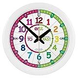 Apprendre à lire l'heure en anglais. Horloge pour enfants « EasyRead Time Teacher...
