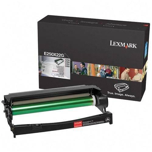Original Lexmark E250X22G 3500 Yield Photoconductive Kit Cartridge - Retail