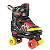 Hikole Roller Skates for Kids, Adjustable Size PVC Wheel Triple Lock Mesh Breathable Roller Skates...