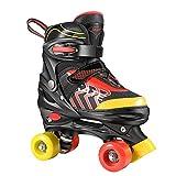 Hikole Roller Skates for Kids, Adjustable Size PVC Wheel Triple Lock Mesh...