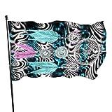 Bandera de jardín para atrapar sueños, bandera de bienvenida, decoración de temporada para el hogar, al aire libre, banderas decorativas divertidas, para balcón, club, pancarta de 90 x 150 cm