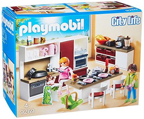 Playmobil City Life 9269 - Grande Cucina Attrezzata, dai 4 anni