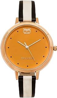 Chumbak Analog Yellow Dial Women's Watch-8907605051913
