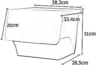 MU Ménage Portable Boîte De Rangement en Bois Massif Créatif Grande Capacité Couture Couleur Côté Ouvert en Plastique Cuis...