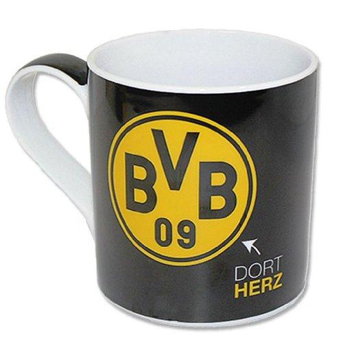 Tasse BVB 09 Dort-Herz, Dort-Hand,- DortMund, Borussia Dortmund