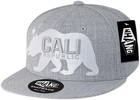WHANG Gomdori Cali OFFicial store Bear Snapbacks SEAL limited product