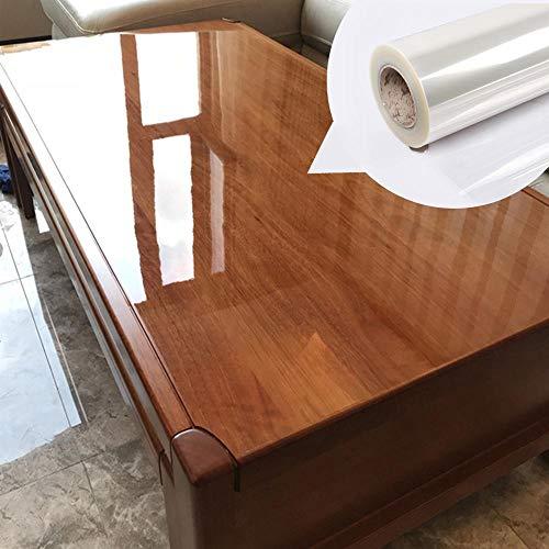 PMSMT Selbstklebende transparente Folie Marmor Holz Desktop-Schutzfolie Tischaufkleber für Möbel