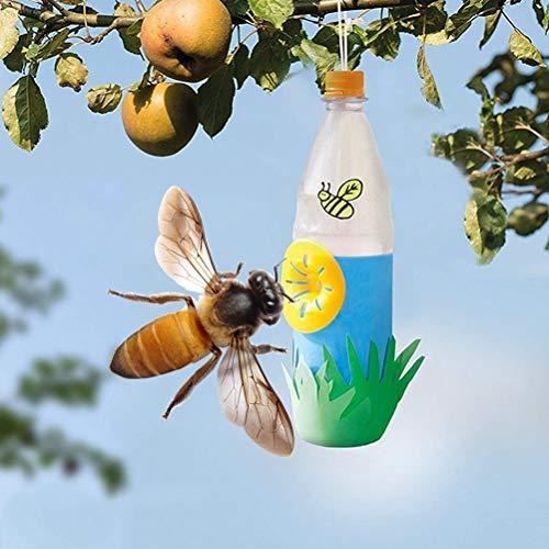 10 trappole per vespe, trappole per vespe, vespe, mosche, mosche e calli, fai da te, per esterni, per il controllo degli insetti in giardino