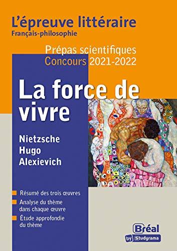 Epreuve littéraire 2021-2022 Prépa scientifique