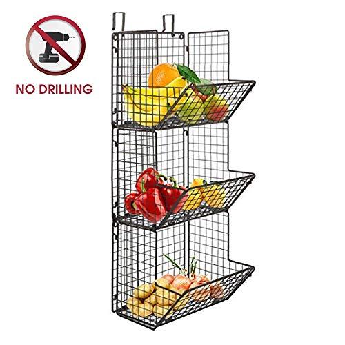 wire basket kitchen organizer - 7